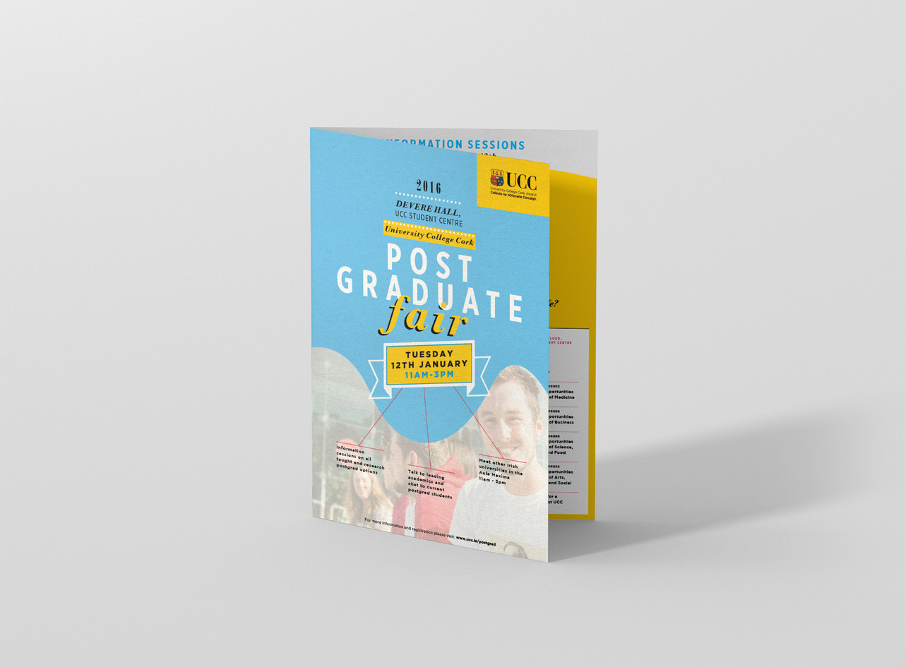 Kunnert and Tierney: UCC Postgraduate Fair Campaign Design