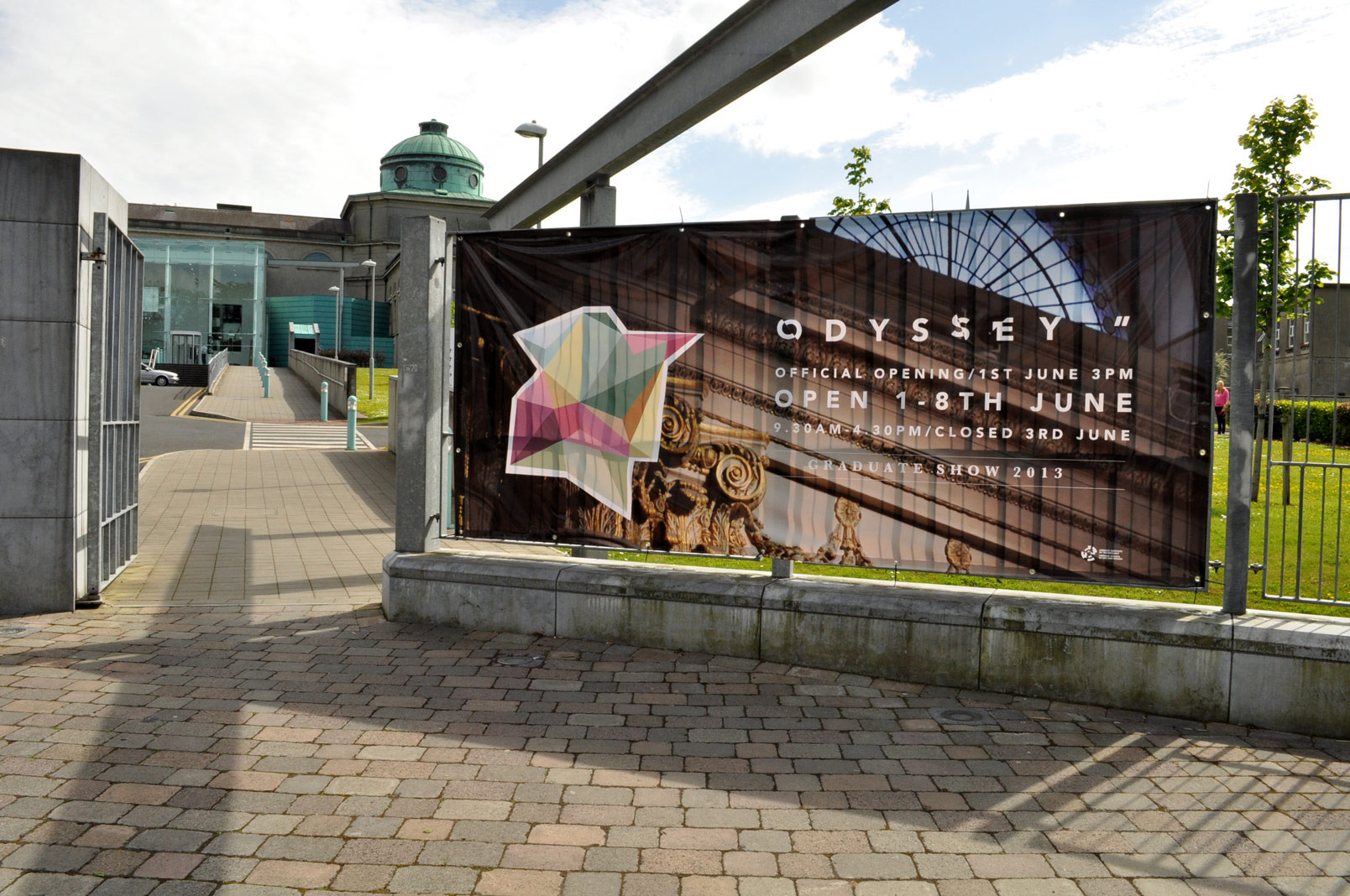 Campaign Design for Odyssey gradute show Limerik School of Art and Design