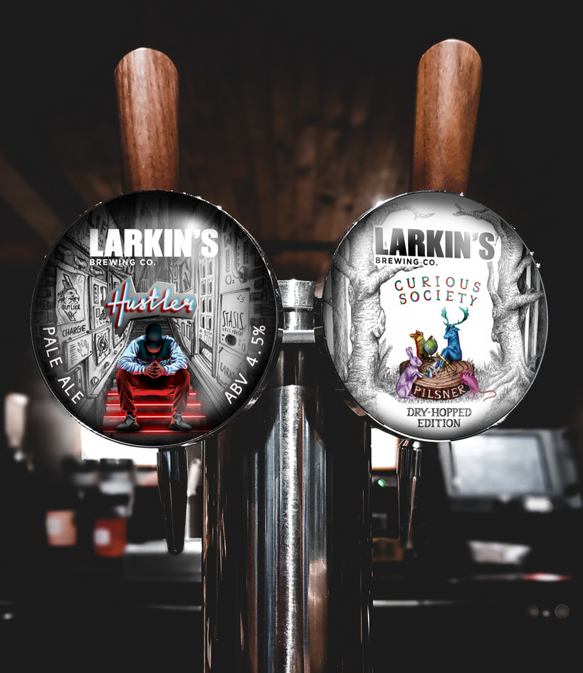 Larkin's Brewing Co. Fisheye Design