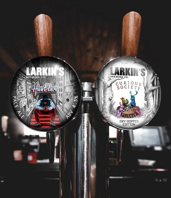 Larkin's Brewing Co. Fisheye Design