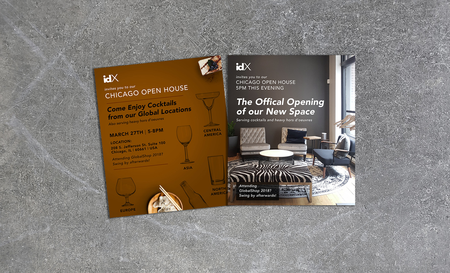 idX Open House Invites