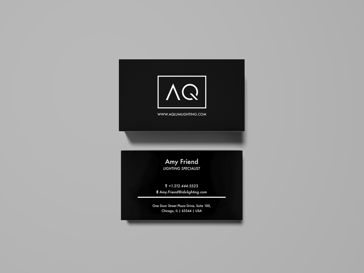 AQLUM Business Cards