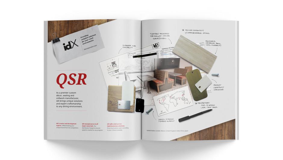 idX Corporation Design:Retail Advertisement