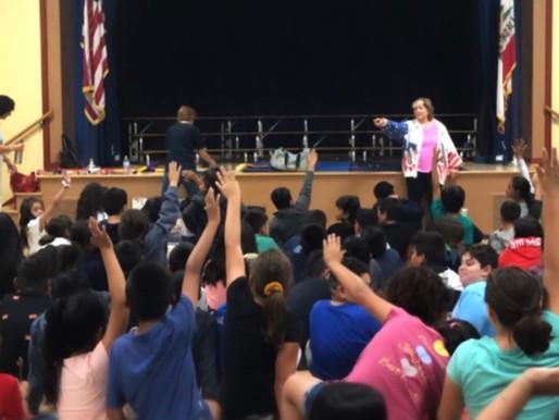 Donna Mayhew at Ranchito Elementary