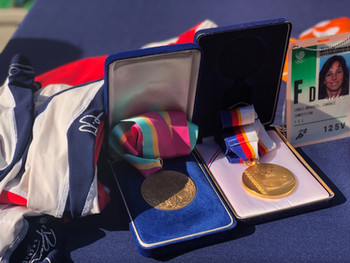 Candace Cable's medals