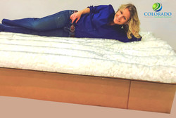 Adult Double Bed w/ Mattress