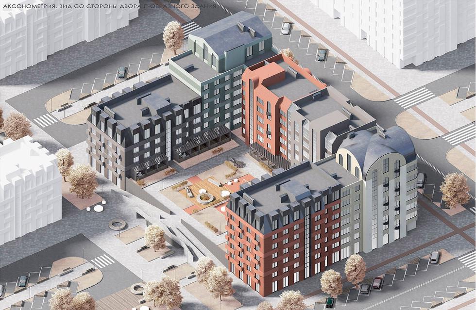 Фасадные и градостроительные решения для массовой застройки