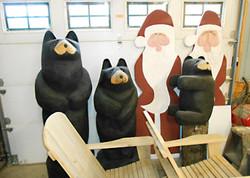 Carved Bears & Santas