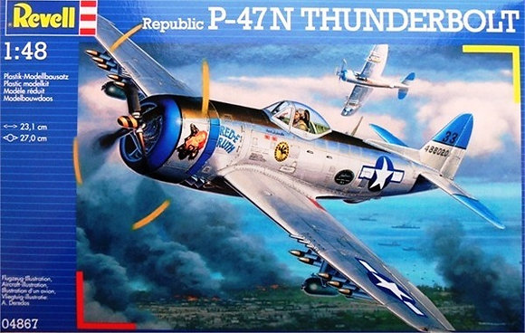 P-47 N THUNDEERBOLT 1:48