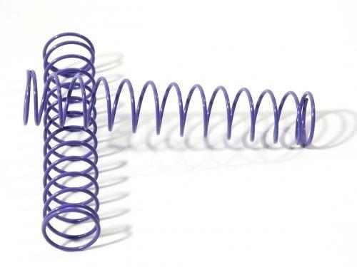 HPI 6594 SPRING 14x80x1.1 14 bobine (VIOLA / 2 pz)