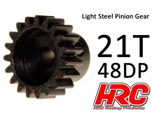 HRC PIGNONE 21T 48DP ALLUMINIO