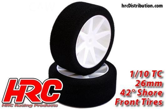 HRC RUOTE FOAM 1/10 26mm 42° SHORE