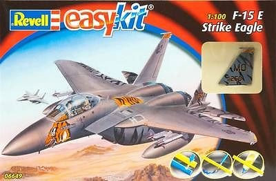 F-15 E STRIKE EAGLE EASY KIT 1:100