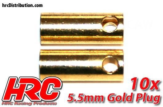 HRC CONNETTORI GOLD 5,5 mm (10)