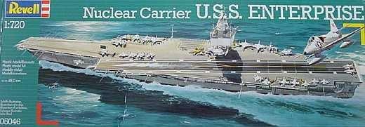 NUCLEAR CARRIER USS ENTERPRISE 1:720