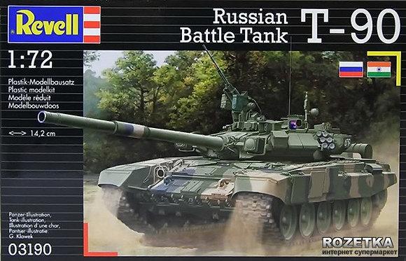 CARRO ARMATO T90 RUSSO SCALA 1:72