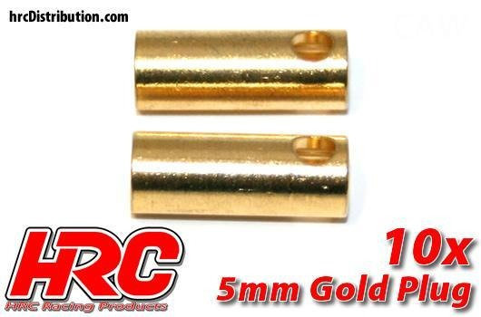 HRC CONNETTORI GOLD 5mm
