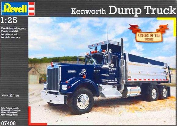 KENWORTH DUMP TRUCK KIT 1:25