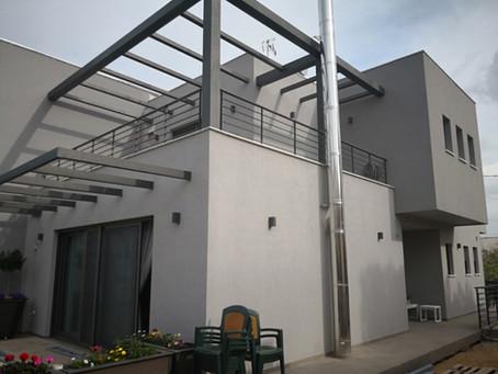 Σύμμεικτη νέα κατασκευή 170τμ minimal house