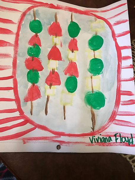dec art Viviana Floyd 5th Grapes, strawb