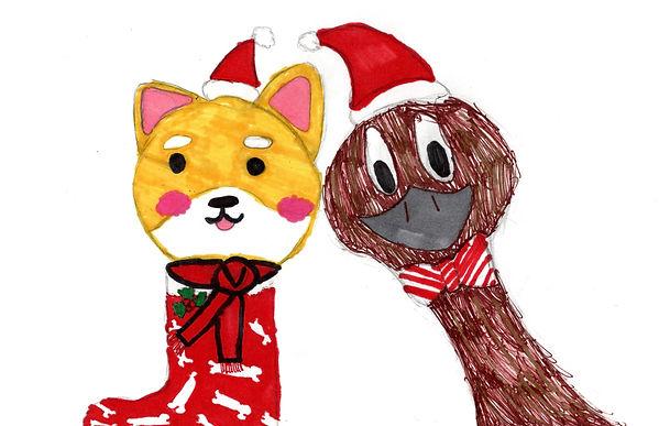 dec art Lorelai McKenzie 5th - Merry Chr