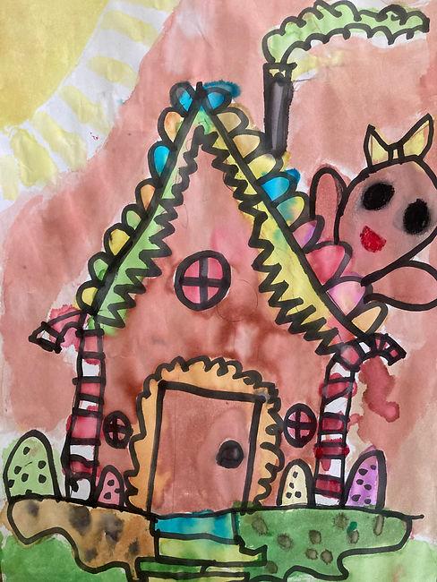 Dec art Camille Gonzalez 1st The Gingerb