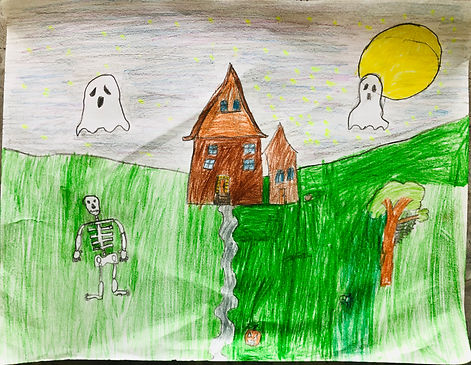 October art grade 1 #2 This is what I ge