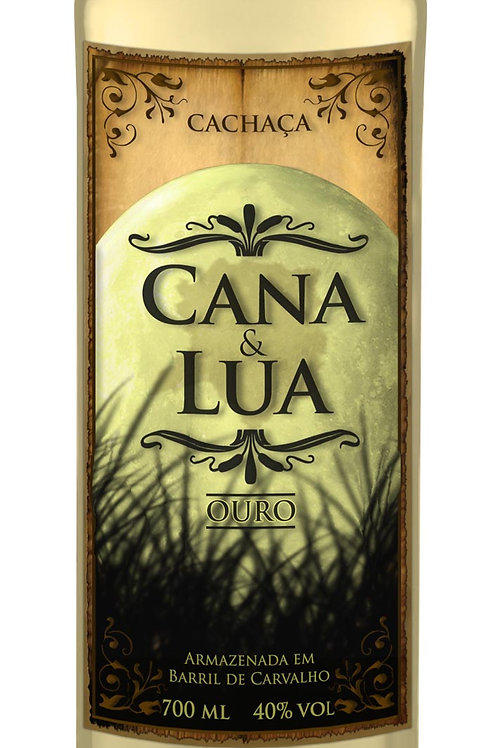 Cachaça Cana & Lua Ouro