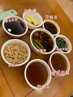 知名藝人-李亮瑾-素食月子餐分享