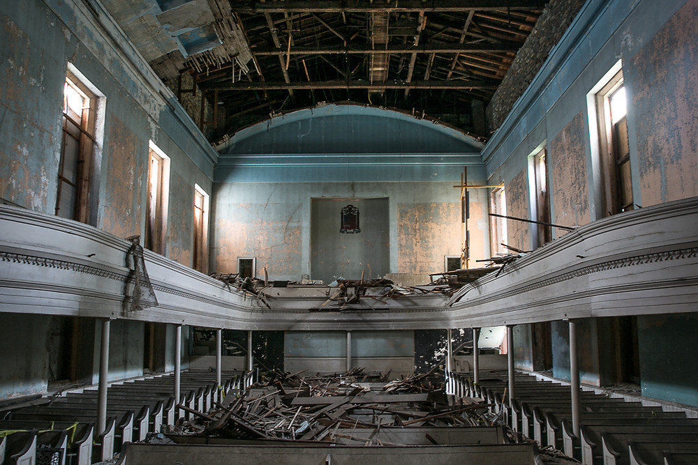 My blog won't be as abandoned as this theater