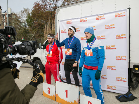 Behind the scenes - Sorta Marathon