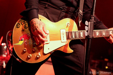 Mike Ness' guitar