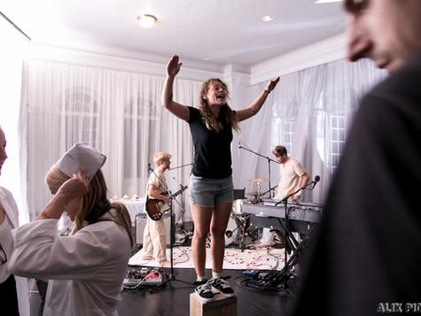 Behind the scenes - Jukebox the Ghost music video