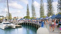 Catamaran Boat Cruises in Moreton Bay