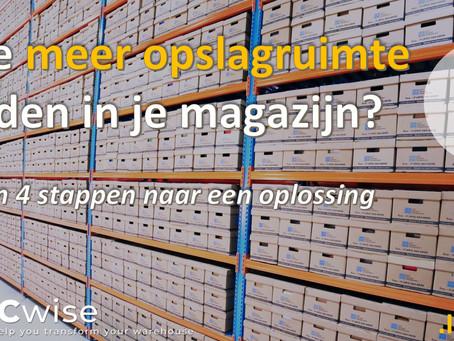DCwise Insights NL - Hoe meer opslagruimte vinden in je magazijn? In 4 stappen naar een oplossing