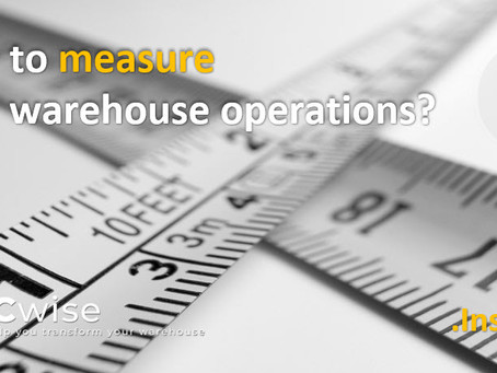 DCwise insights - How to measure your warehouse operations?