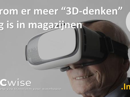 """DCwise Insights NL - Waarom er meer """"3D-denken"""" nodig is in magazijnen"""