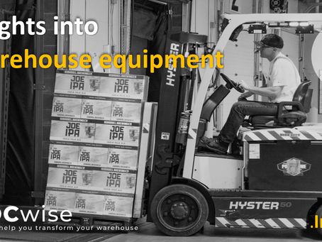 DCwise Insights - Insights into Warehouse equipment