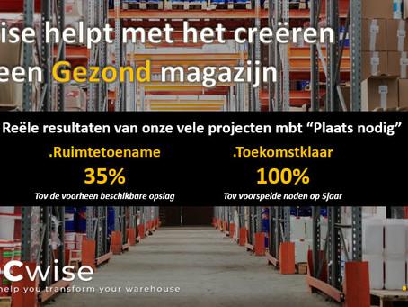 """DCwise Services NL - DCwise helpt met het creëren van een """"Gezond"""" magazijn"""