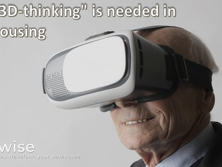 "DCwise Insights - Why more ""3D-thinking"" is needed in warehousing"