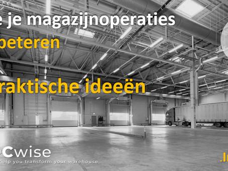DCwise Insights NL - Hoe je magazijnoperaties verbeteren?           6 praktische ideeën