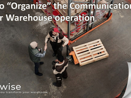 DCwise Insights –  A Solution for  Structuring your Communication in Warehousing