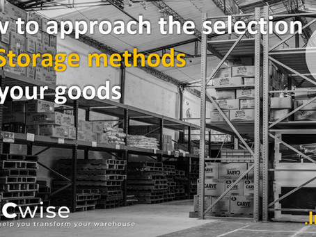 DCwise Insights - How to approach the selection of Storage methods for your goods