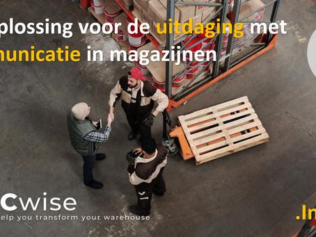 DCwise Insights NL –  Een oplossing voor de uitdaging met Communicatie in magazijnen