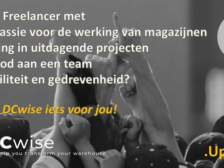 DCwise Updates NL – DCwise is op zoek naar Freelancers