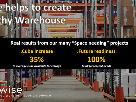 DCwise Services - DCwise helps to create a Healthy warehouse