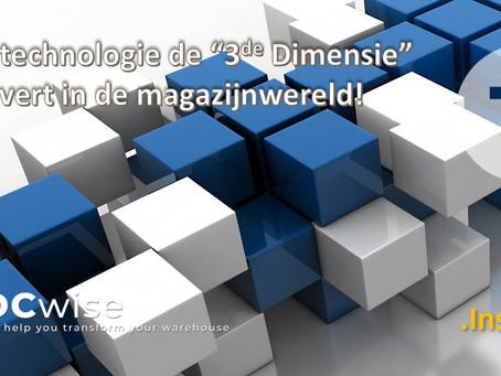 """DCwise Insights NL - Hoe technologie de """"3de dimensie"""" verovert in de magazijnwereld"""
