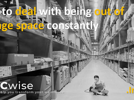 DCwise Insights - How to deal with being out of storage space constantly❓