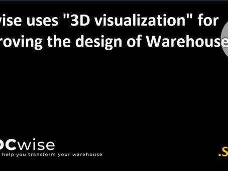 """DCwise uses """"3D visualization"""" for improving the design of Warehouses"""