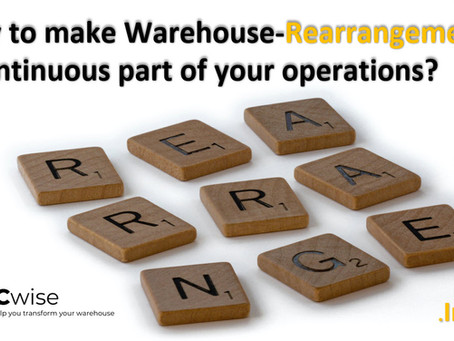 DCwise Insights - How to make Warehouse-Rearrangement a continuous part of your operations?